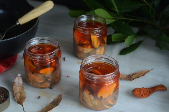 Mejillones en conserva