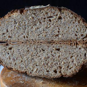 miga del pan de centeno
