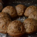 rosca de pan de semillas