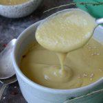 Deliciosa textura de la crema de chayotes y puerros