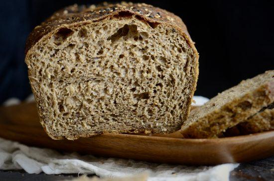 pan con semillas de lino