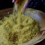 maiz listo para el pan