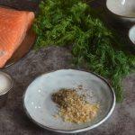 ingredientes del salmón