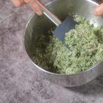 marinado de sal, azúcar y eneldo