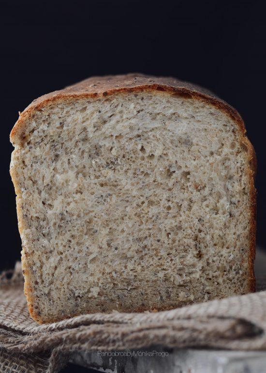 Pan de molde de semillas