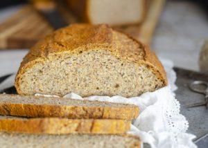 tostadas de pan de lino