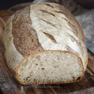 pan casero con masa vieja